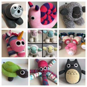 B. Sock Toys Handmade to Order